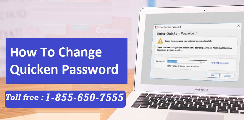 How to Change Quicken ID, Data File, Vault Password