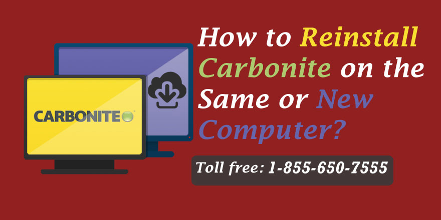How to Reinstall Carbonite