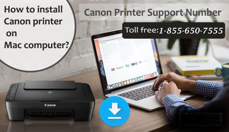 Install Canon printer on Mac